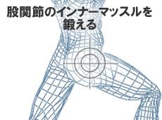 股関節のインナーマッスルを鍛える