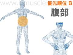 優先順位B:腹部